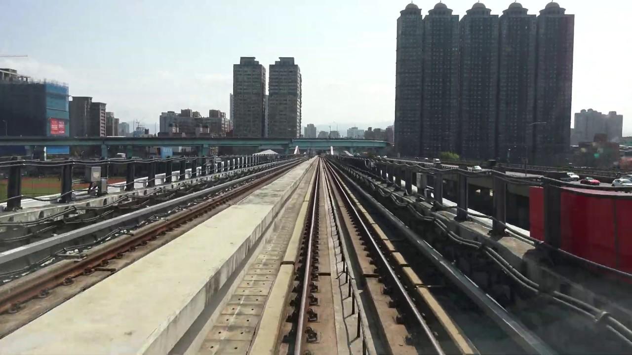 臺北捷運環狀線 Y20新北產業園區站 - Y07大坪林站 路程景 - YouTube