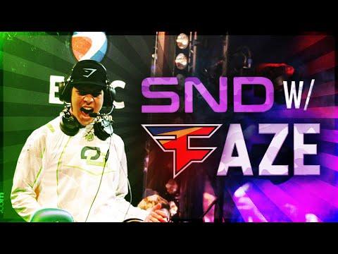 SND WITH FAZE CLAN