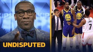 'This is wrong ... Kevin Durant should not have played' in GM 5 - Shannon Sharpe | NBA | UNDISPUTED