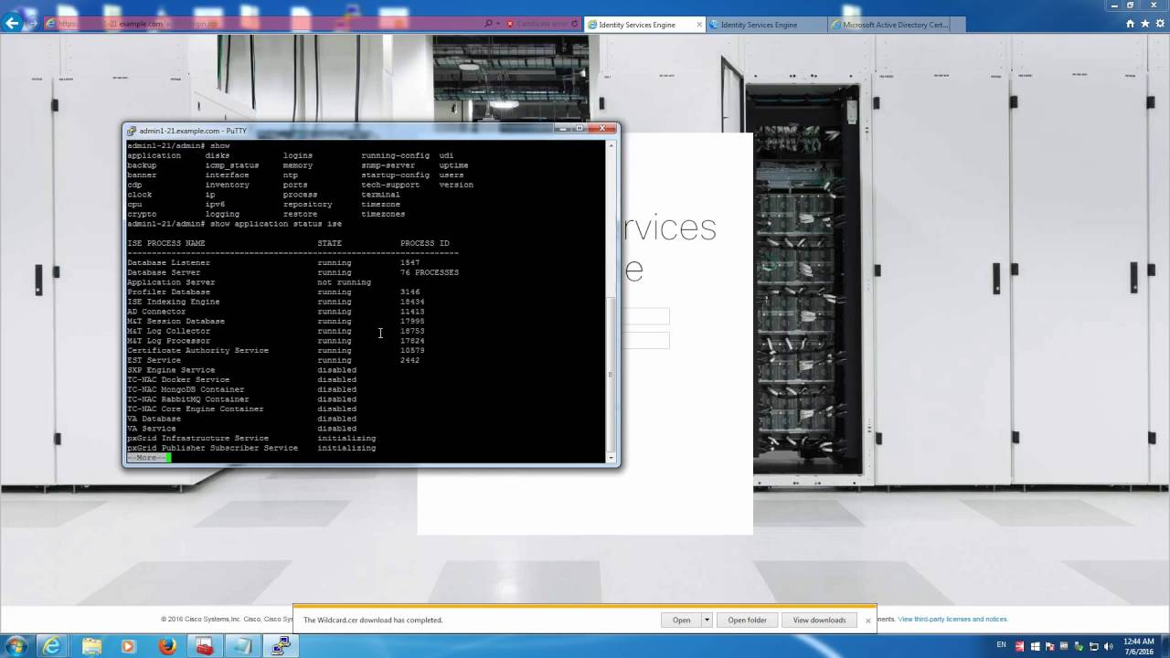 ISE 2 1: How to Install Wildcard Certificates