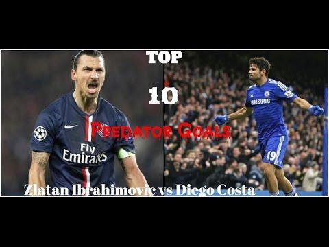 Download Top 10 goals Predators - Zlatan Ibrahimovic vs Diego Costa