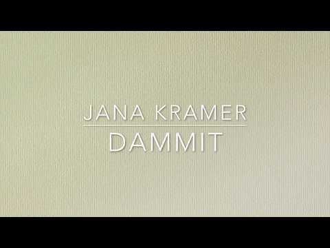 Jana Kramer - Dammit (Lyric Video)