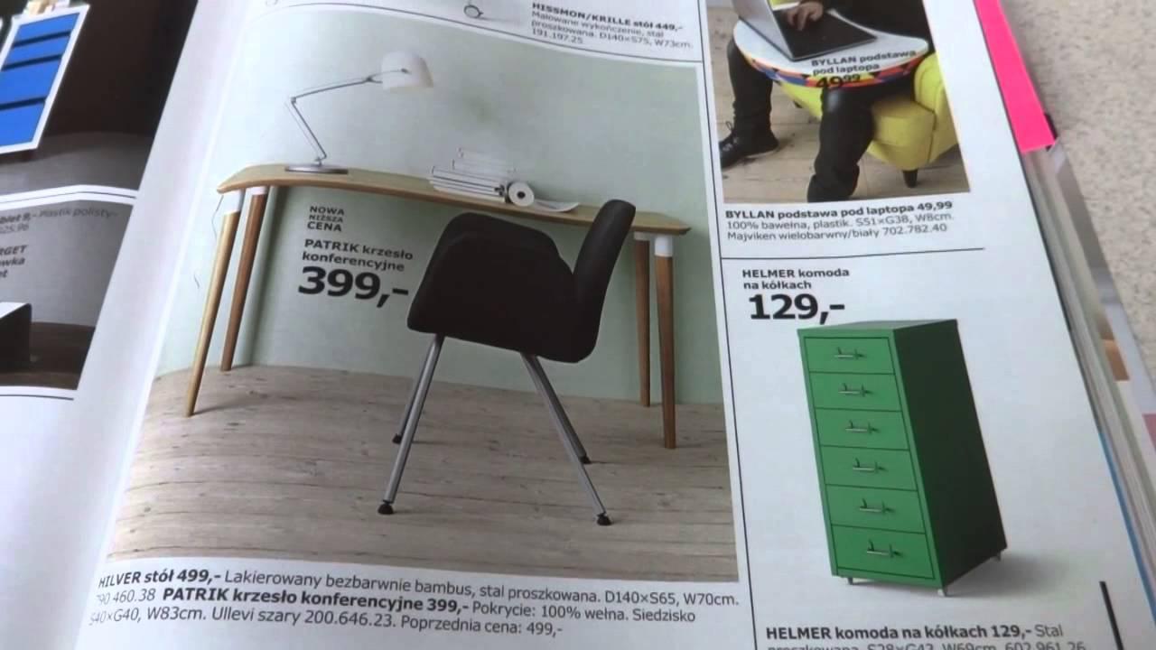 Katalog Ikea 2015 2016 Biurka I Krzesła Biurowe Youtube