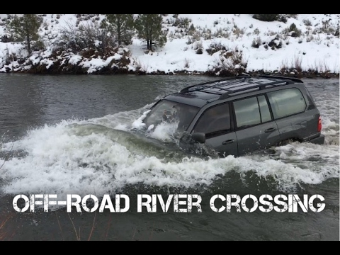 MUST HAVE for off-road river crossing LandCruiser 100 Series (Pt.1)
