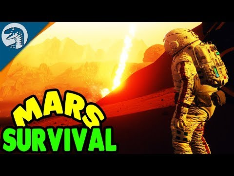 BASE SURVIVAL ON MARS & DEEP MINING | JCB Pioneer: Mars Gameplay