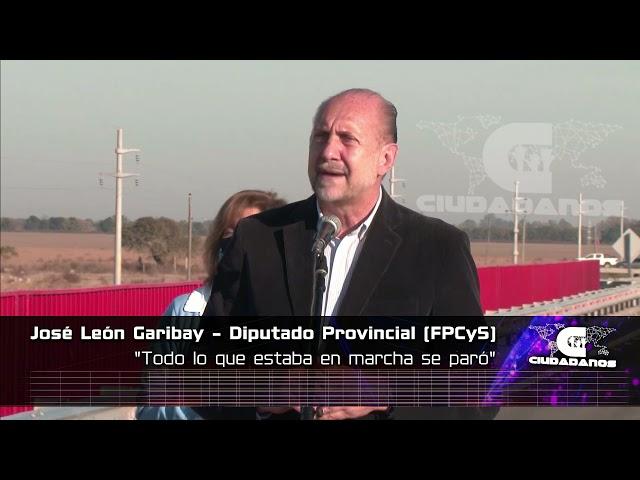 José León Garibay sobre obra pública en la gestión Perotti - Ciudadanos