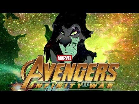 Animations Mashup-Avengers: Infinity War Trailer Parody