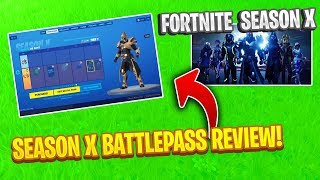 *NEW* Buying SEASON X BATTLEPASS In Fortnite (100% UNLOCKED)