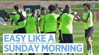 SUNDAY SQUAD TRAINING & JOHN STONES' SMOOTH TOUCH! | MAN CITY