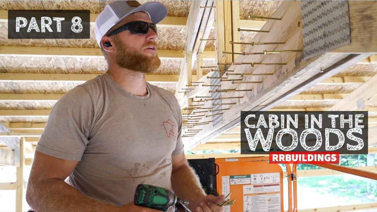Cabin in the Woods Part 8: Fixing a Truss, Tool Talk, and Installing soffit and fascia