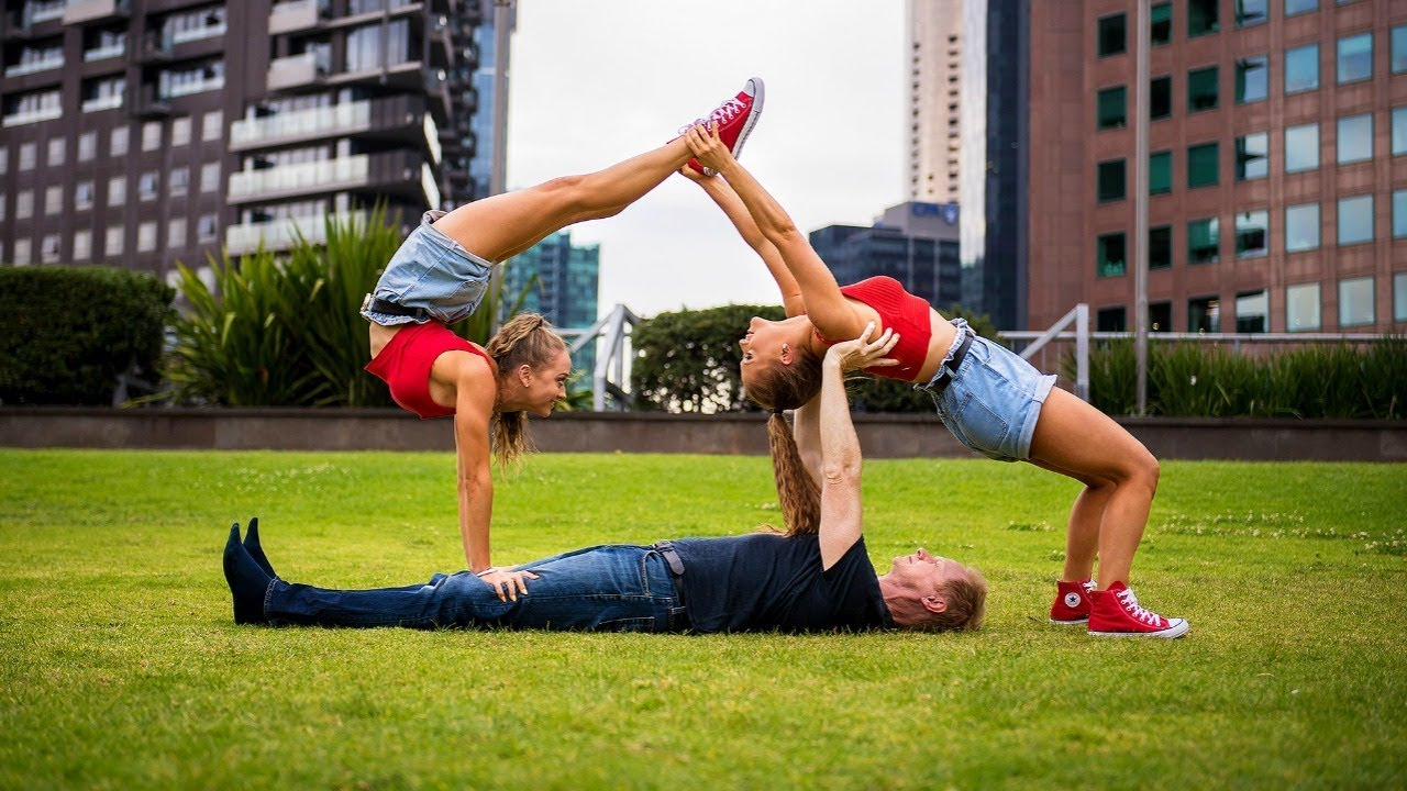 extreme yoga challenge with jordan matter youtube