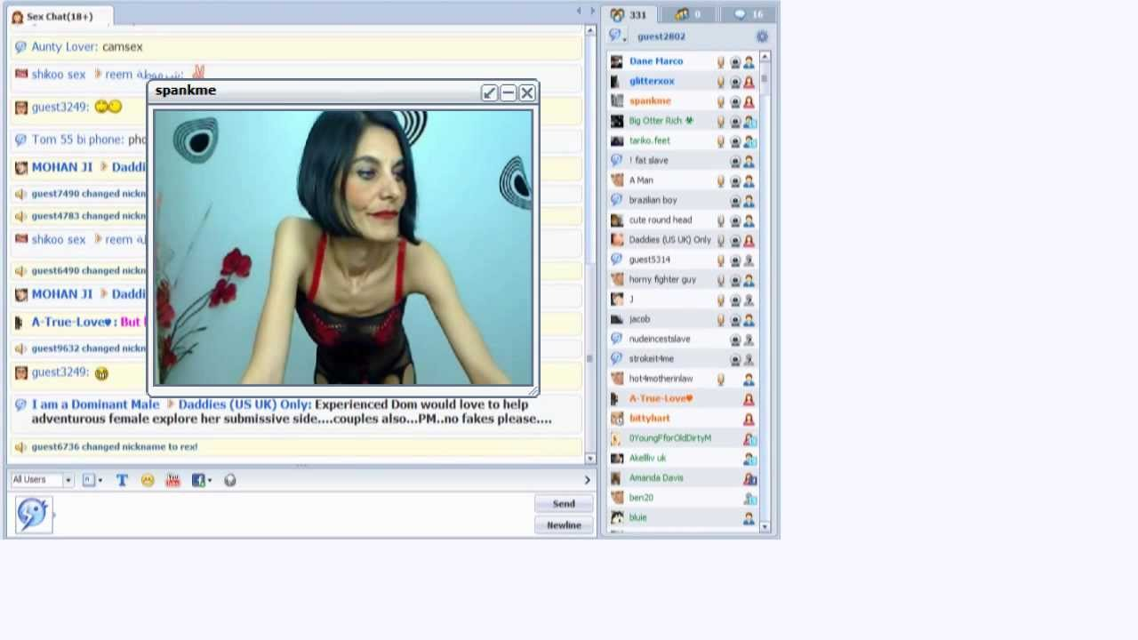 web free online chat with nude