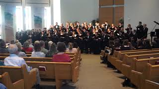 Iowa State Singers at West Des Moines Christian Church on October 1, 2017