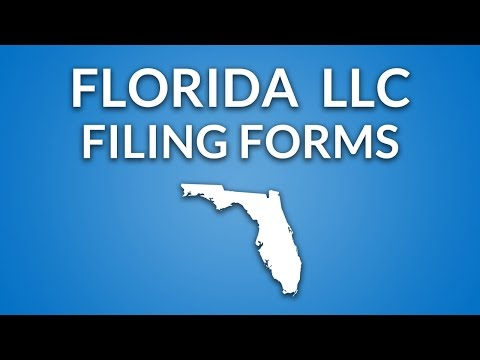 Florida LLC - Filing Forms & Documents