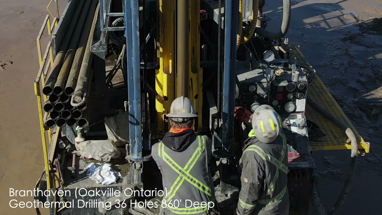 Successful Geothermal Energy installation in Oakville, ON!