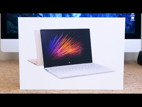 Make Xiaomi Air 13 Laptop Review Images
