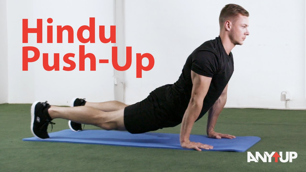 Hindu Push Up Bodyweight Training Exercise