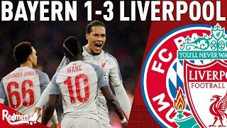 ... paul is in the allianz arena after liverpool beat bayern 3-1 to go through the...