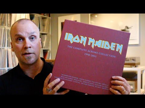 FIRST LOOK: Iron Maiden – The Complete Albums Collection 1990 – 2015
