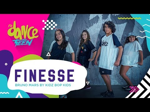 Finesse - Bruno Mars by Kidz Bop Kids | FitDance Teen (Coreografía) Dance Video