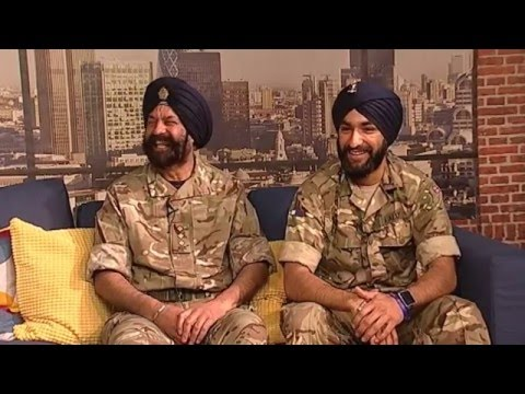 180416 Breakfast Show: Guest Interview - Sikh soldiers (British Army)