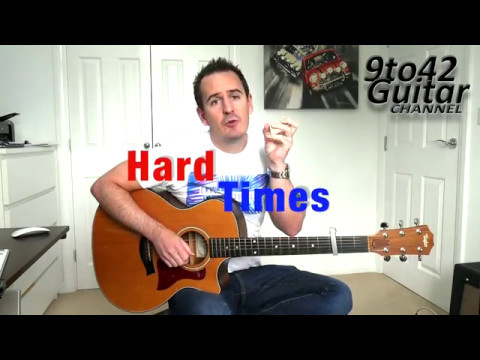 How To Play Hard Times Paramore Guitar Lesson Tutorial Youtube