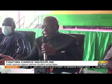 Chief cautions against teacher-student sexual affair - Premotobre Kasee (23-9-21)