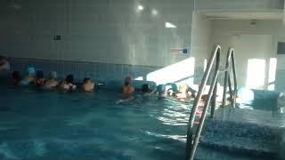 1-й урок в бассейне