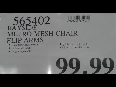 Costco Bayside Metro Mesh Chair CORC 7 Assembly Video and review