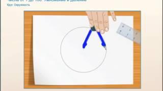 Что такое круг окружность радиус
