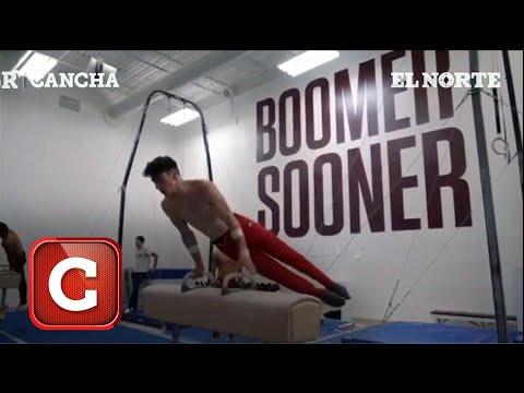 Rutinas de gimnasia con el regio Carlos Gracia