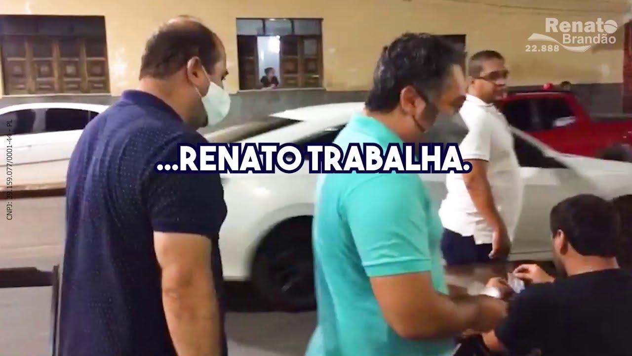 Renato Brandão nas ruas de Juazeiro