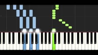 William Ekh - Adventures (feat. Alexa Lusader) - PIANO TUTORIAL