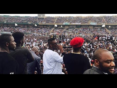 Iba One en live au stade du 26 mars de Bamako - Mali