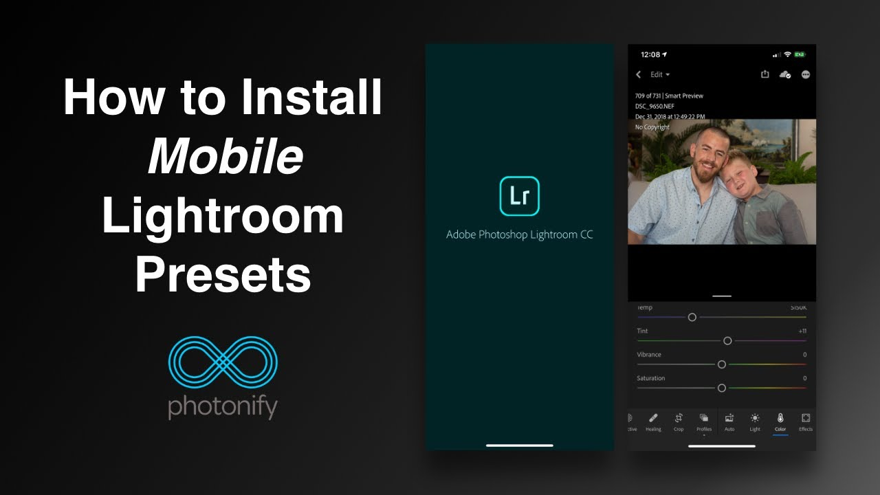 How to Use Lightroom Mobile Presets - FREE Mobile Lightroom