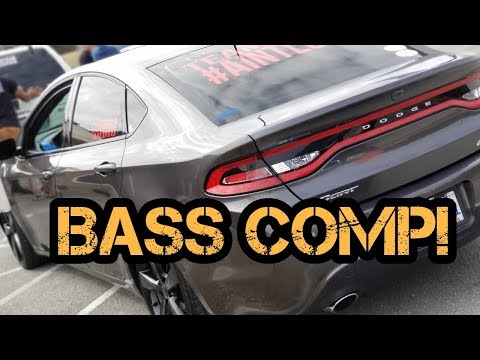First Audio/Bass Competition Of 2018