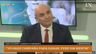 José Luis Espert: Qué medidas concretas tomaría si es presidente