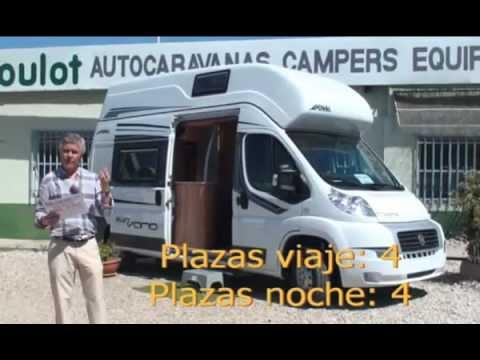 Autocaravana Possl 2 Win Vario: El placer de viajar - YouTube