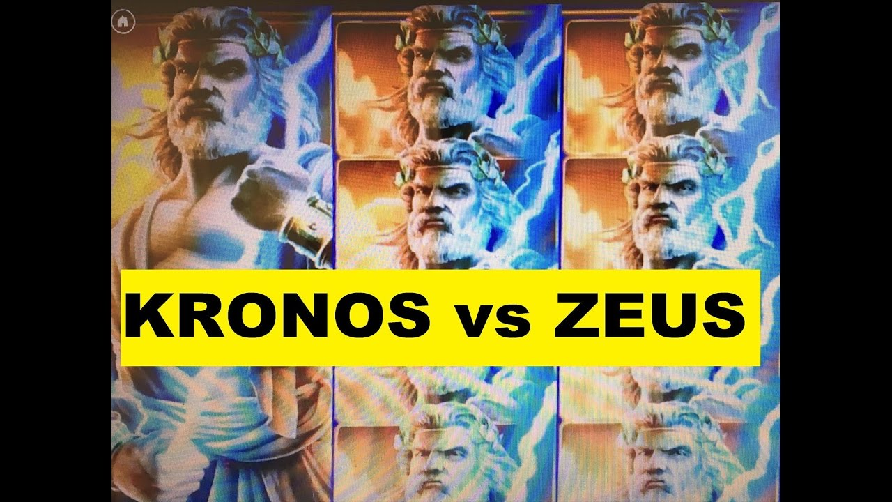 Zeus son of kronos slot machine