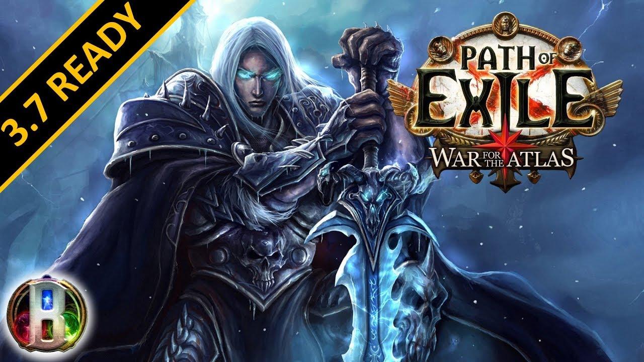 Path of Exile 3 7 - Frost Nova Cast on Critical Build - Assassin Shadow -  Legion