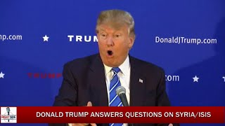 Donald Trump Holds Press Conference Before MA Rally (11-18-15)