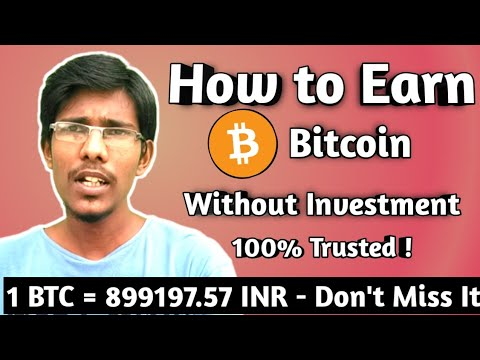 How To Earn Bitcoins ! Without Investment | 100% Trusted  | Tamil - Athi4Tech
