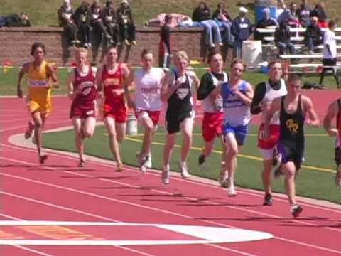 High School 800 meter run