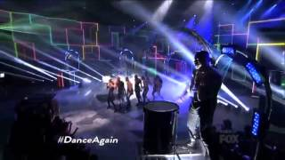 Jennifer Lopez Dance Again   Top 4 Results   AMERICAN IDOL SEASON 11
