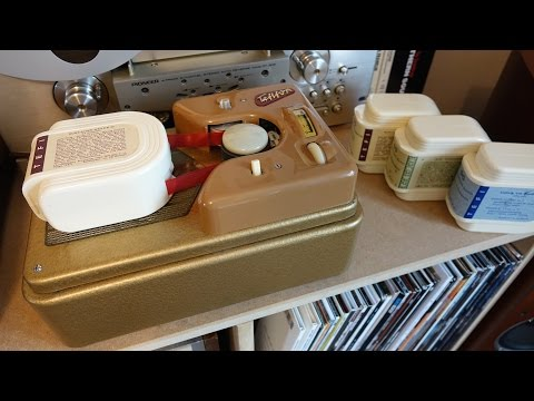 Vintage Electronics - The Tefifon Mp3