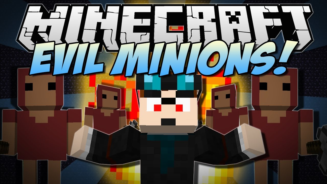 Minecraft Evil Minions Summon Them Amp Use Their Power