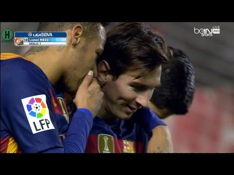 ملخص وأهداف برشلونة ورايو فاليكانو 5-1 بتعليق حفيظ دراجي HD كامل 4-3-2016