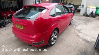 Mk2 Ford Focus ST Stage 1 Remap + Pops and Bangs - Certified Remaps