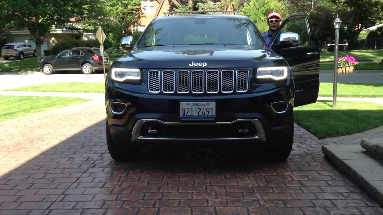 2015 jeep grand cherokee halogen to hid headlamp upgrade video 2 install complete [ 1280 x 720 Pixel ]