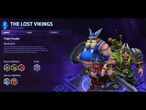 Heroes of the Storm - The Lost Vikings Guide